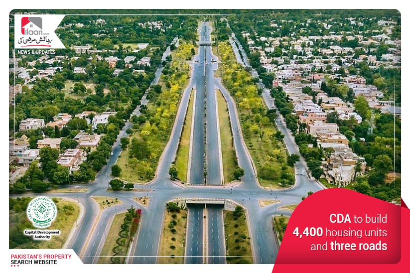 CDA to build 4,400 housing units and three roads