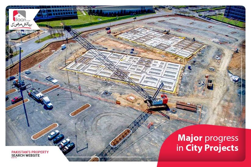 Major progress in City Projects