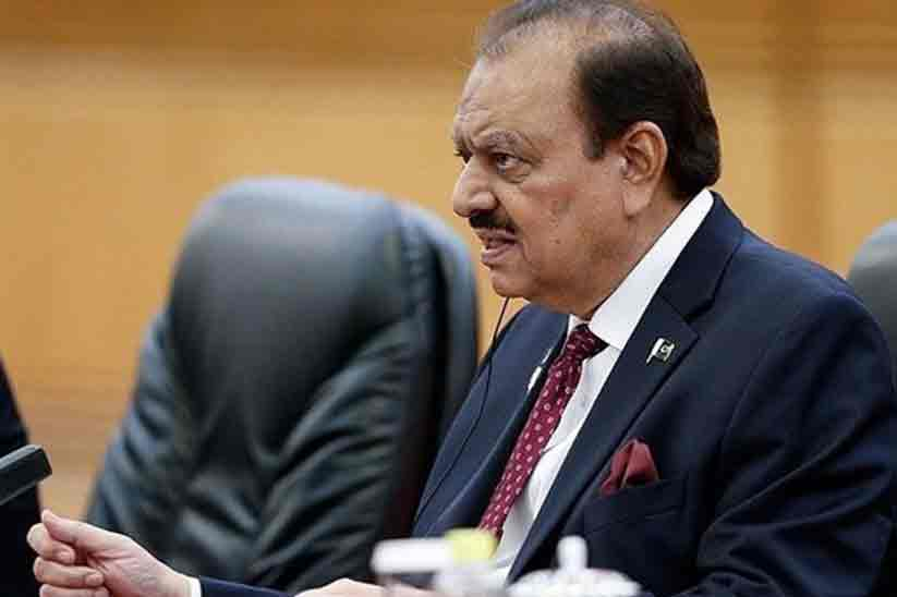 President Mamnoon Hussain stated new property tax ordinance in Pakistan