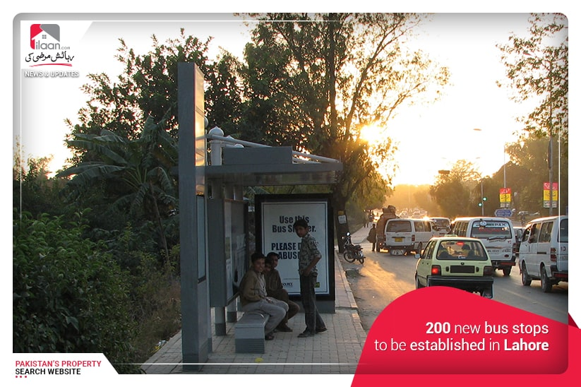200 New Bus Stops to be Established in Lahore