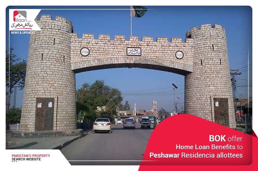 BOK offer Home Loan benefits to Peshawar Residencia allottees