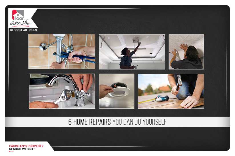 6 Home Repairs You Can Do Yourself