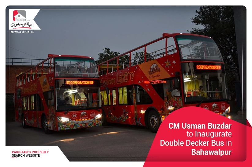 Double-Decker bus service in Bahawalpur to be inaugurated by CM Usman Buzdar