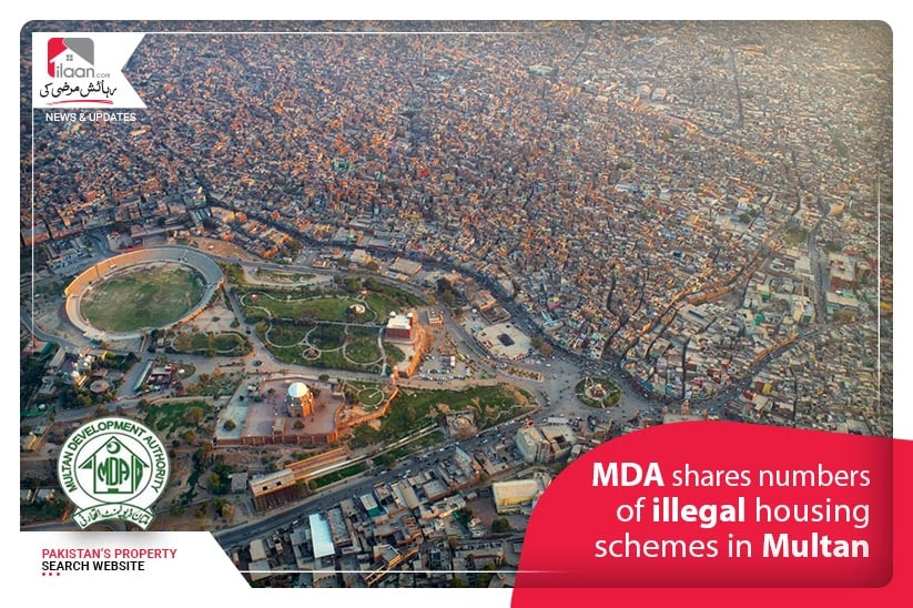 MDA shares numbers of illegal housing schemes in Multan