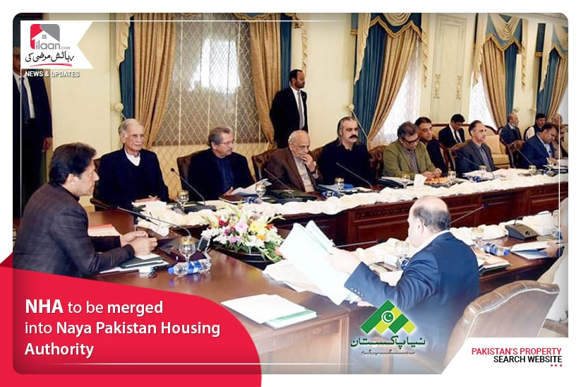NHA to be merged into Naya Pakistan Housing Authority