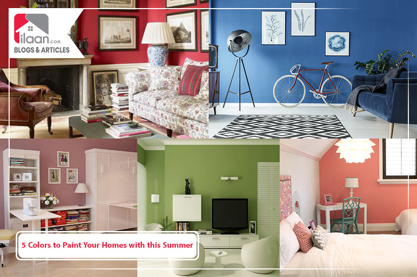 5 Colors to Paint Your Homes with this Summer