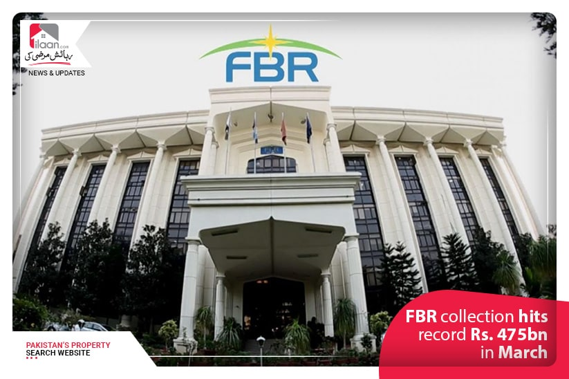 FBR collection hits record Rs. 475bn in March