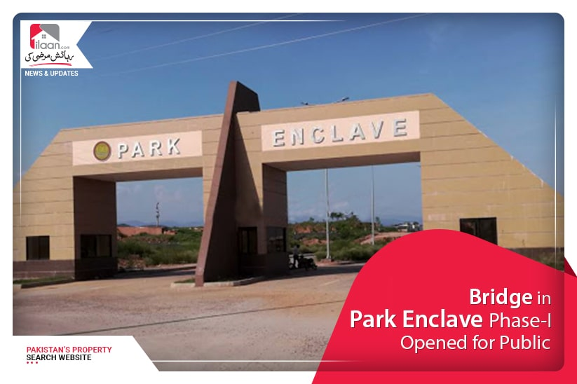 Bridge in Park Enclave Phase-I opened for public