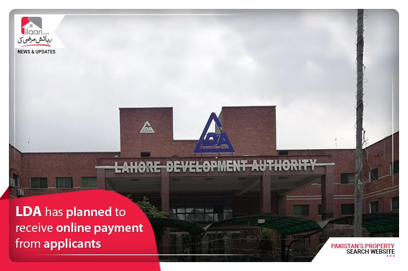 LDA has planned to receive online payment from applicants