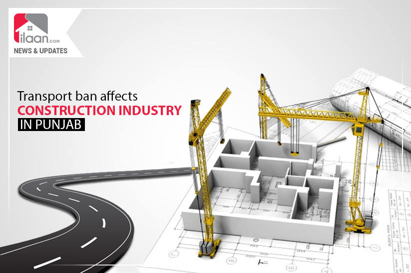 Transport ban affects construction industry in Punjab