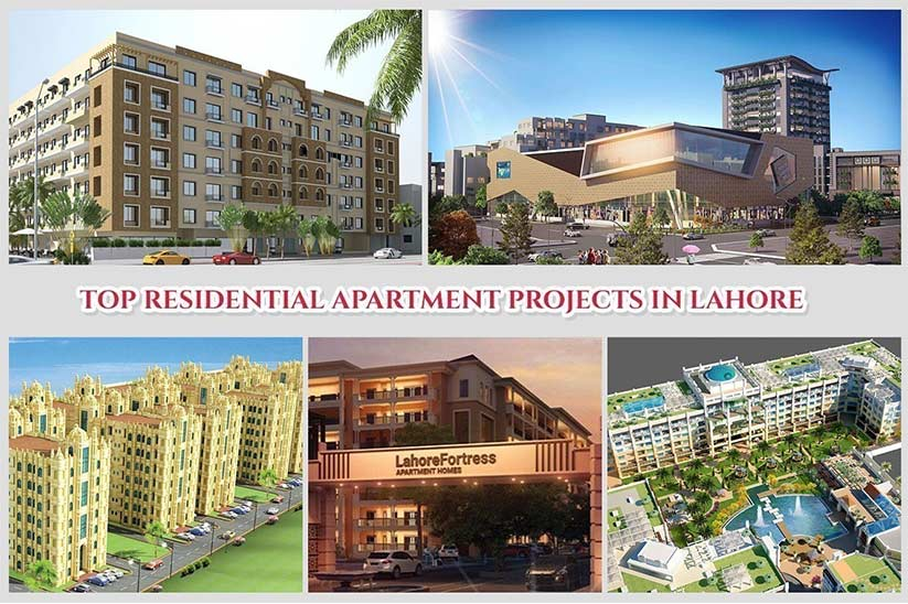 Top Residential Apartment Projects in Lahore