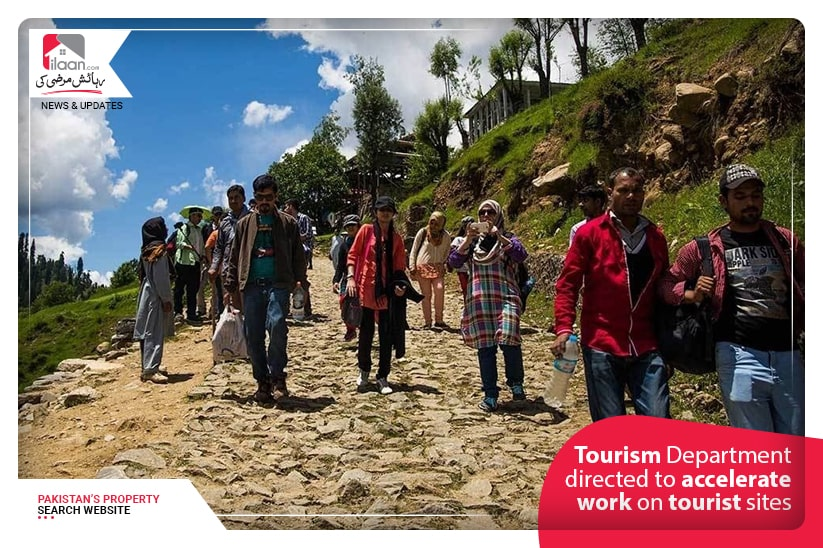 Tourism Department directed to accelerate work on tourist sites