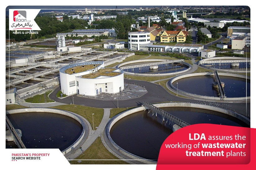 LDA assures the working of wastewater treatment plants