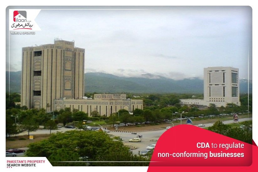 CDA to regulate non-conforming businesses