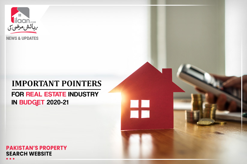 Important pointers for real estate industry in Budget 2020-21