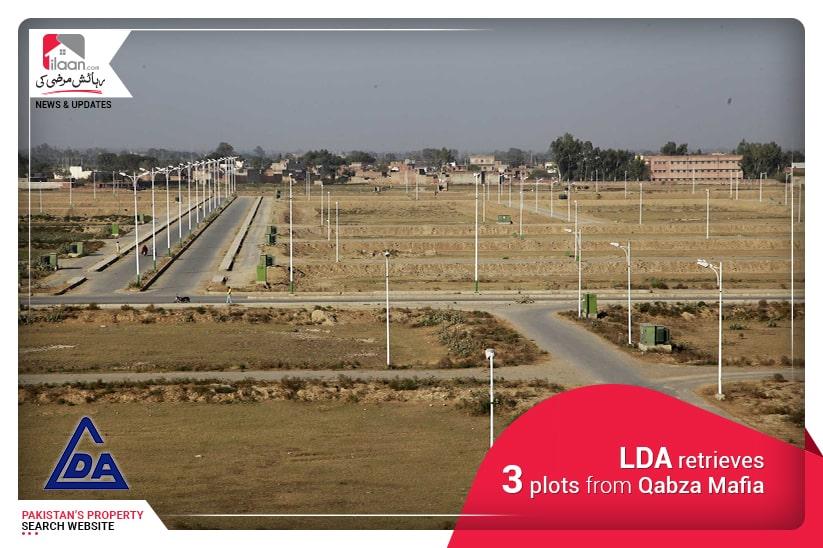 LDA retrieves 3 plots from Qabza Mafia