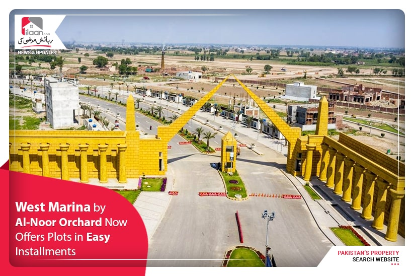 West Marina by Al-Noor Orchard now offers plots in easy installments