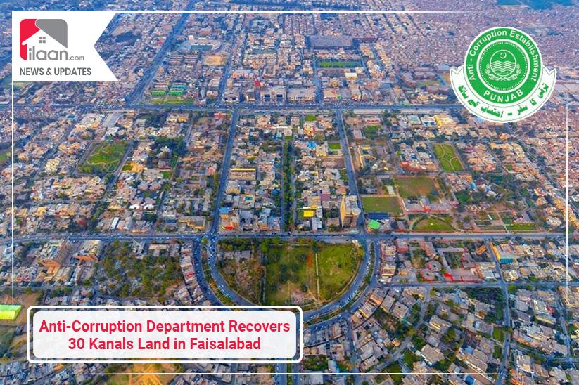FDA Recovers 30 Kanals Land in Faisalabad