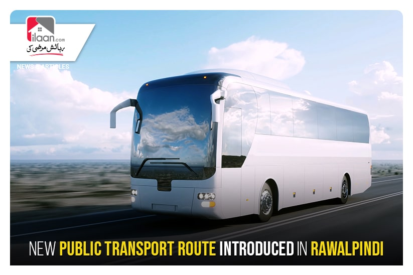 New Public Transport route introduced in Rawalpindi