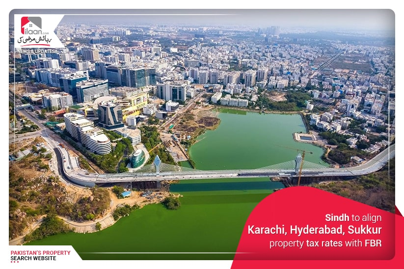 Sindh to align Karachi, Hyderabad, Sukkur property tax rates with FBR