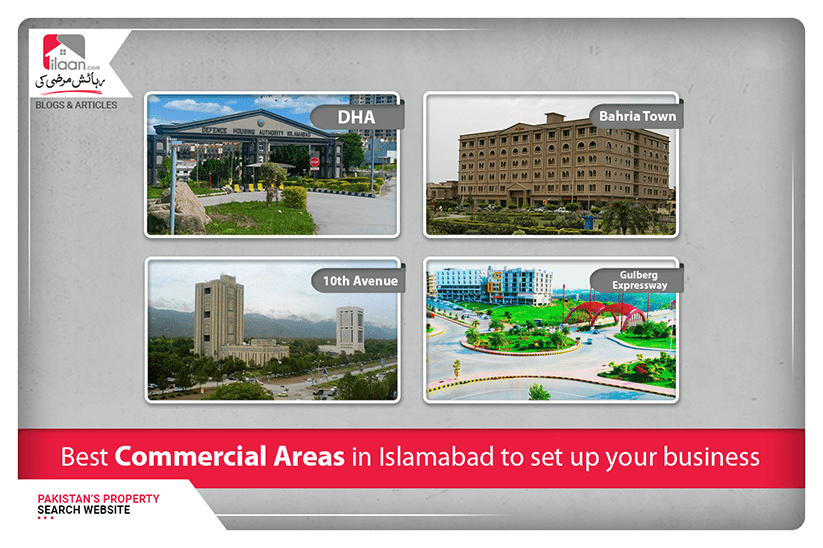 Best commercial areas in Islamabad to set up your business