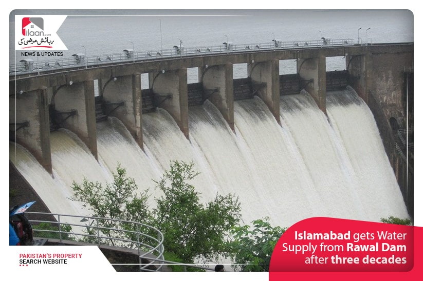 Islamabad gets Water Supply from Rawal Dam after three decades