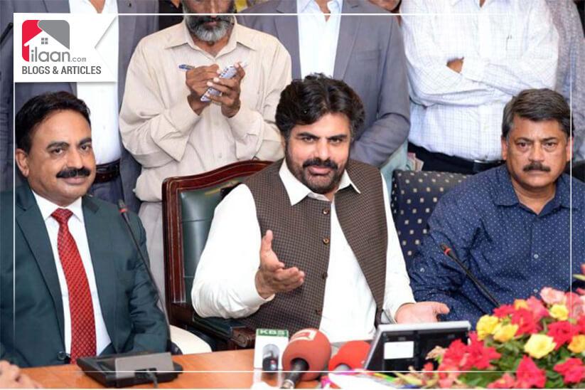 Sindh Minister Municipality Nasir Hussain Shah Inaugurates Biometric System in KDA Civic Center