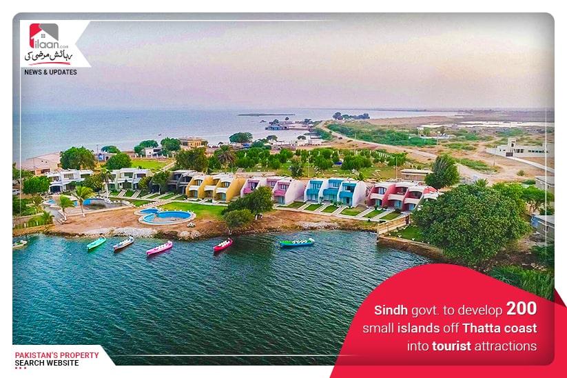 Sindh govt. to develop 200 small islands off Thatta coast