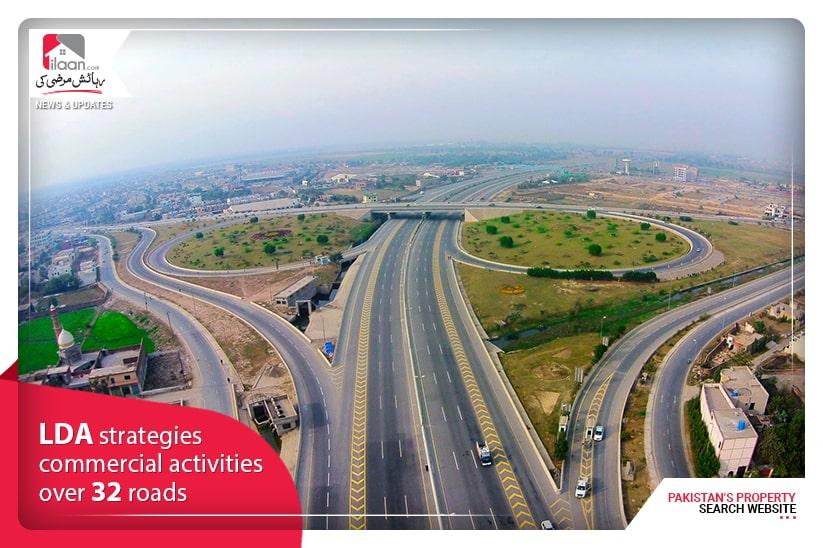 LDA Strategies Commercial Activities Over 32 roads