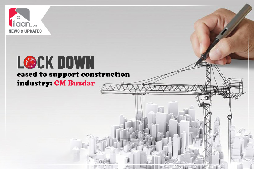 Lockdown eased to support the construction industry, CM Buzdar