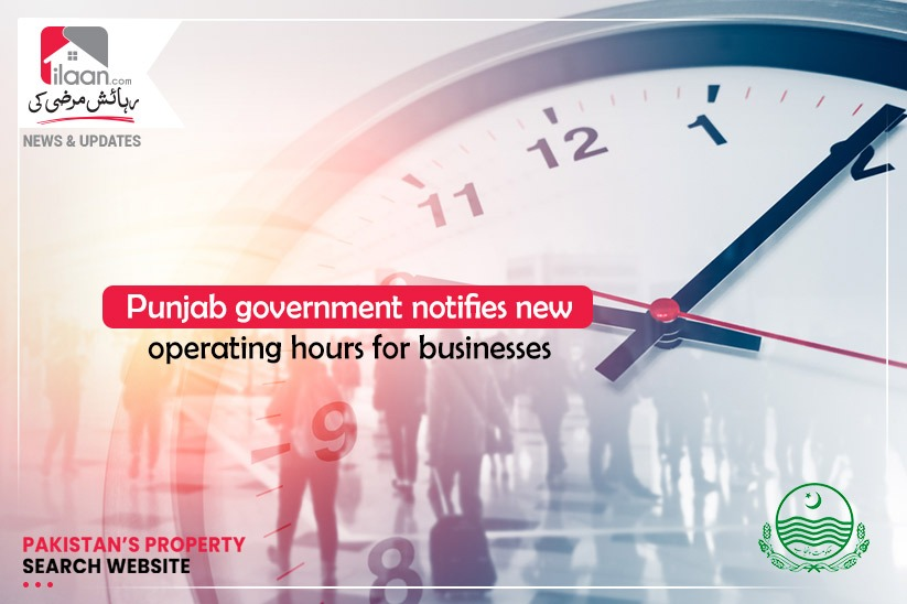 Punjab government notifies new operating hours for businesses