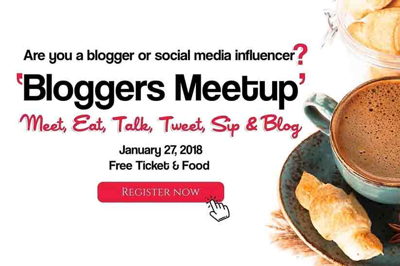 Bloggers Meetup to be hosted by ilaan.com - January 27 2018