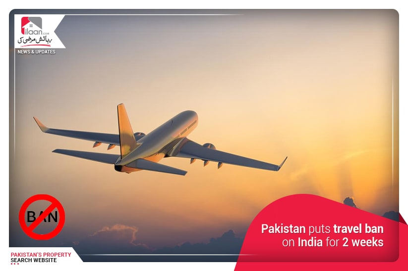 Pakistan puts travel ban on India for 2 weeks
