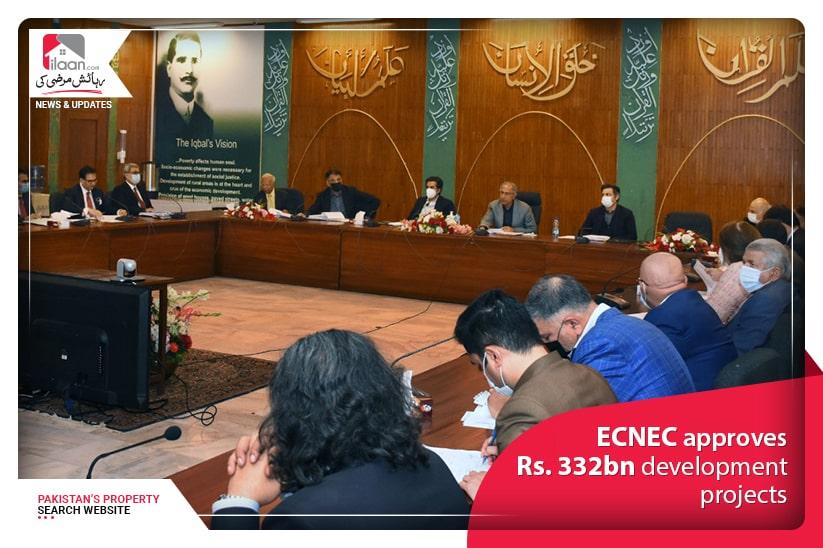 ECNEC approves Rs. 332 billion development projects
