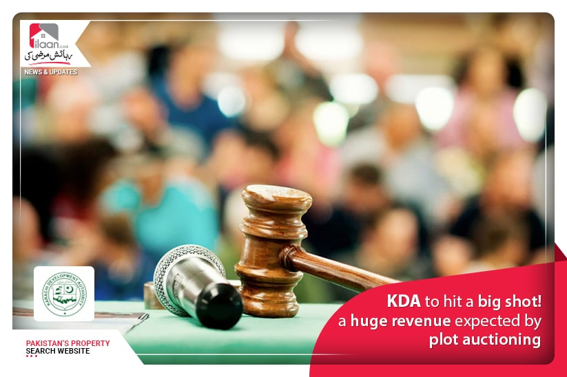 KDA to hit a big shot! a huge revenue expected by plot auctioning