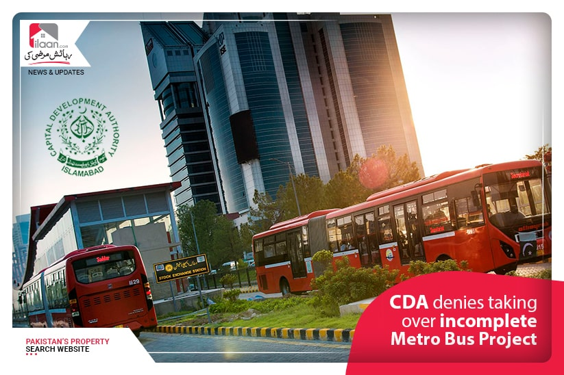 CDA denies taking over incomplete Metro Bus Project