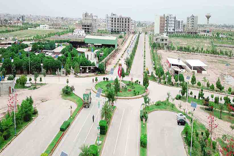 Gulberg Residencia Offering Plot Possession of Blocks L and M