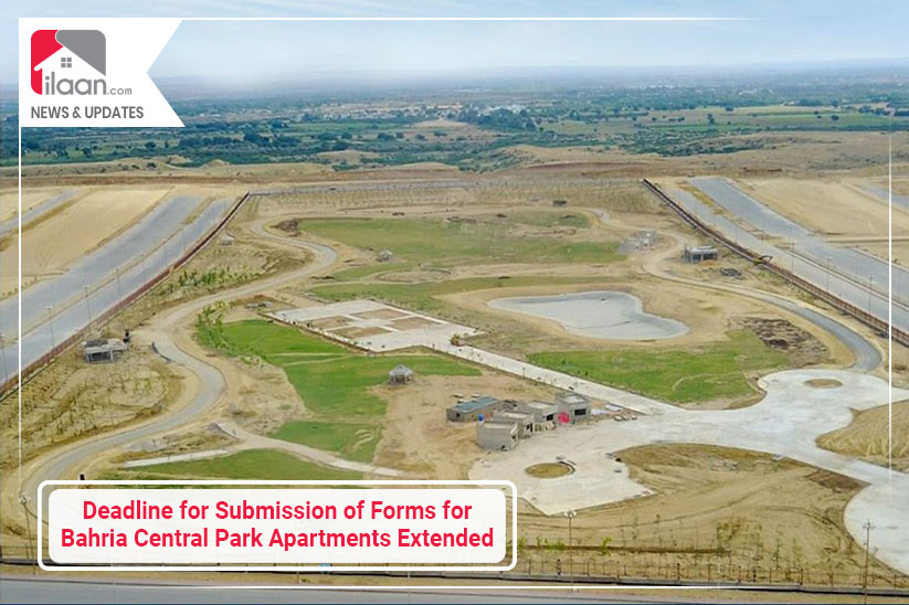 Deadline of Submission of Forms for Bahria Central Park Apartments Extended