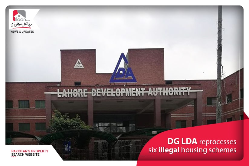 DG LDA reprocesses Six illegal Housing Schemes