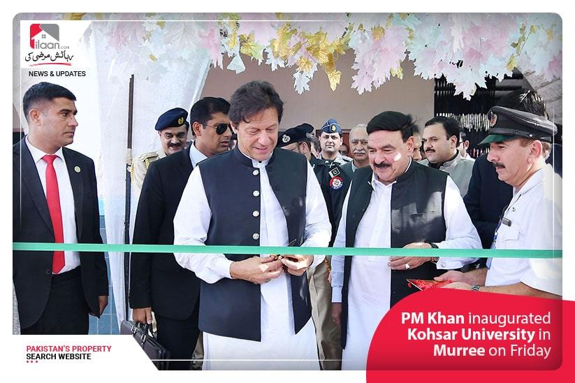 PM Khan inauguratedKohsar University in Murree