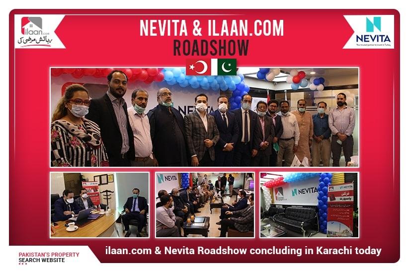 ilaan.com & Nevita Roadshow concluding in Karachi