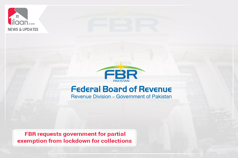 FBR requests government for partial exemption from lockdown for collections