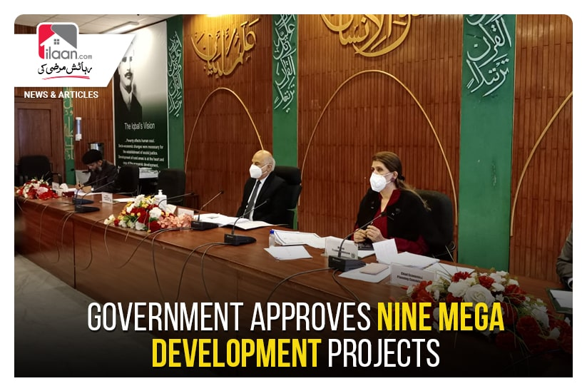 Government approves Nine Mega Development projects