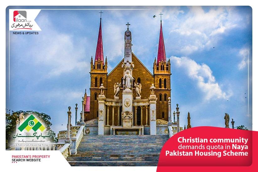 Christian community demands quota in Naya Pakistan Housing Scheme