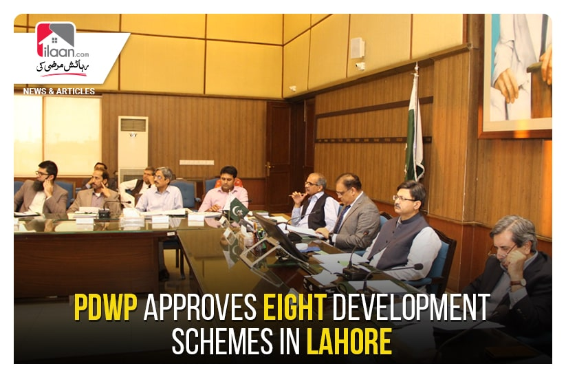 PDWP approves eight development schemes in Lahore