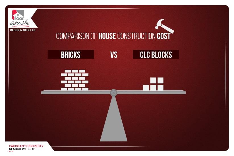 Bricks vs CLC Blocks - Comparison of House Construction Cost
