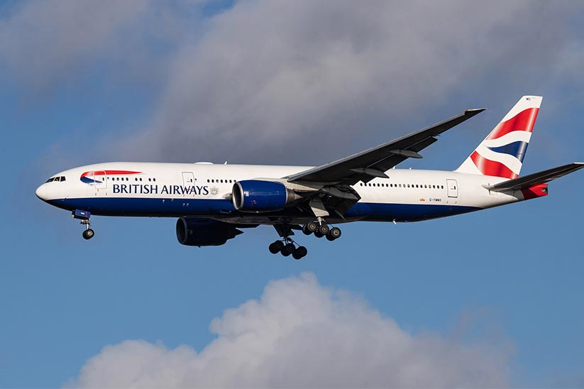After a Decade First British Airways Flight Landed in Islamabad