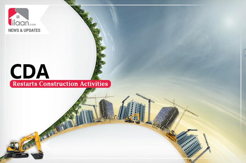 CDA restarts construction activities
