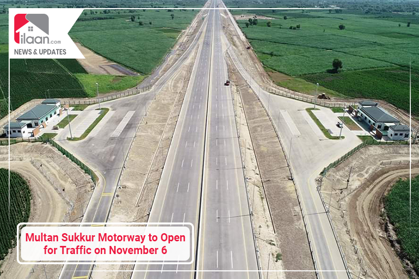 Multan Sukkur Motorway to Open for Traffic on November 6