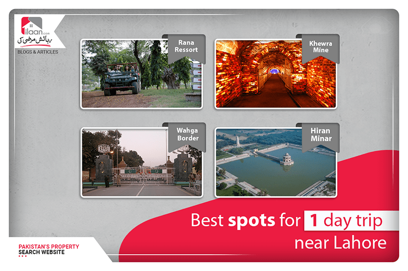 Best spots for 1-day trip near Lahore